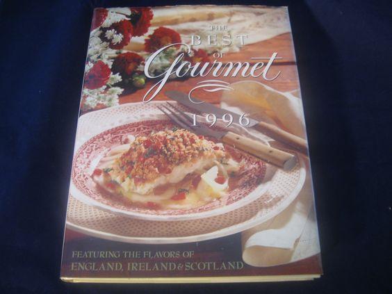 #thebestofgourmet #gourmet #cooking #food #1996cookbook #cookbook #hardcover #england #ireland #scotland #bonanza