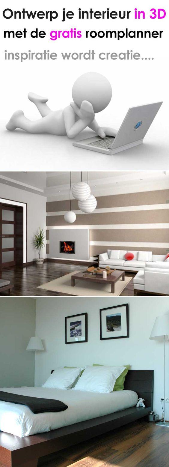 3d interieur ontwerpen met de gratis roomplanner op http