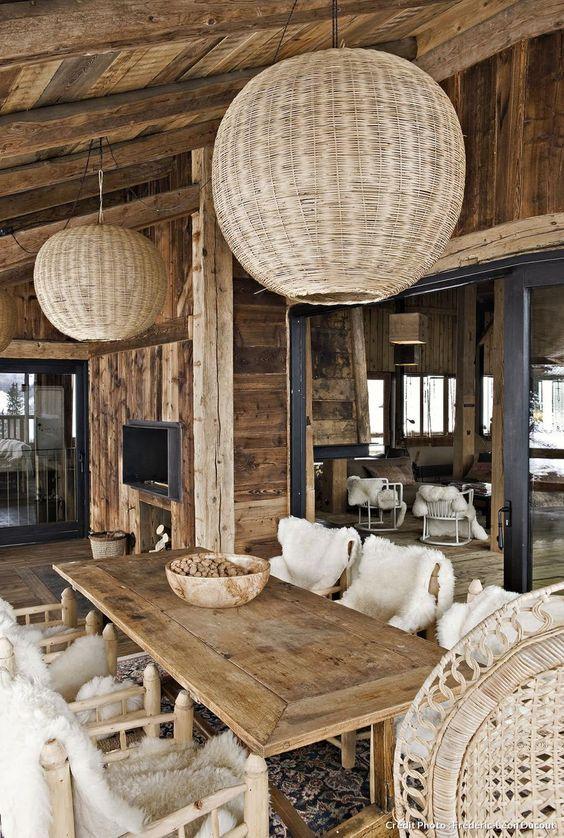 Esprit vieux bois et montagne | Chalet ski | Pinterest | Vieux ...