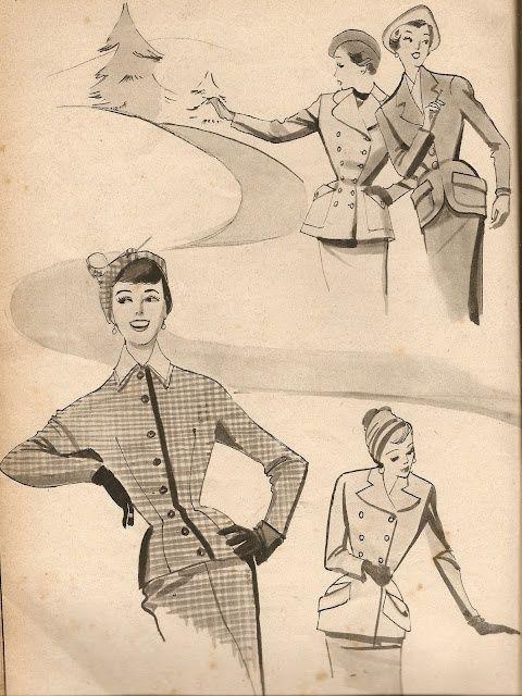 Ilustração, anos 50.