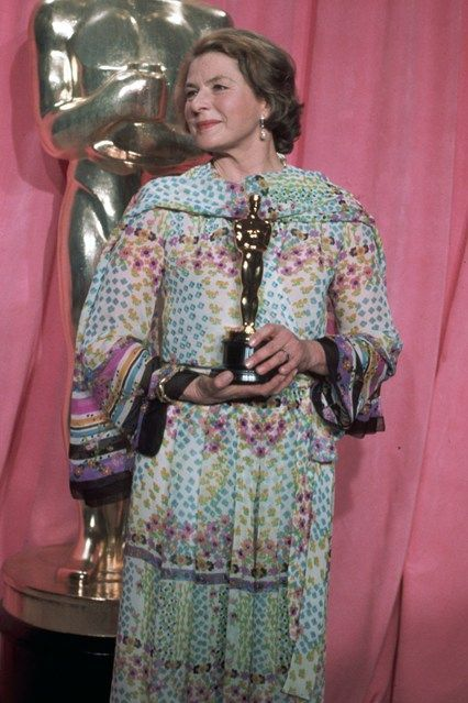 "Ingrid Bergman - Best Supporting Actress Oscar for ""Murder on the Orient Express"""