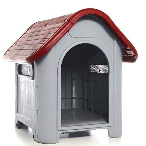 Lavohome All Weather Doghouse Puppy Shelter Pet Dog House Portable