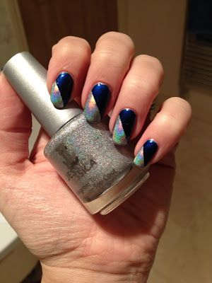 Jessica Cosmetics Hologram Duo in Disco Diva with Boots No7 Sing The Blues