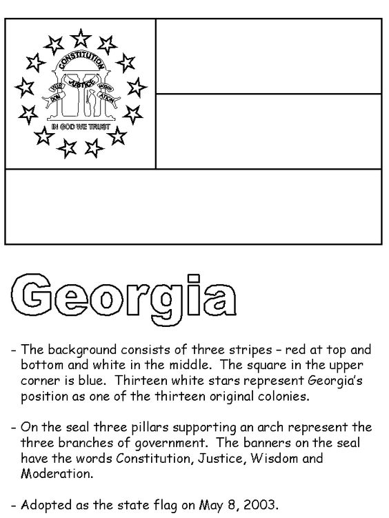 georgia flag 8th grade georgia studies pinterest flags georgia and usa. Black Bedroom Furniture Sets. Home Design Ideas