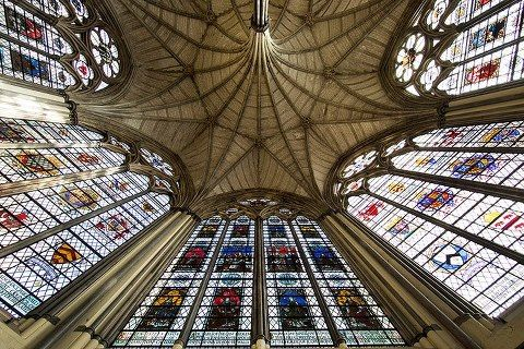 13th c. chapter house, Westminster Abbey