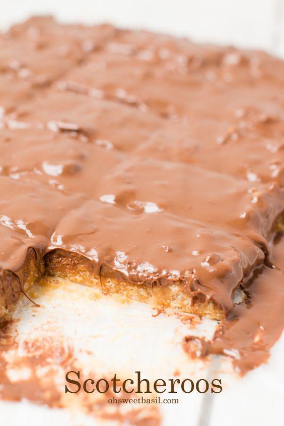 Peanut Butter Chocolate Rice Krispies   Recipe   Desserts, Rice ...