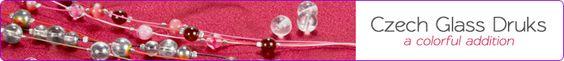 Czech Glass Beads, Druk Beads, Czech Round Glass Beads