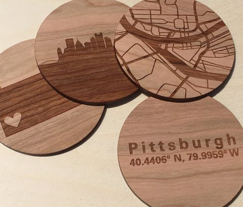 Random Wood Coasters for Your Wedding Day!