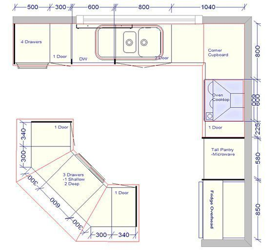 Pin On Kitchen And Bathroom Layout