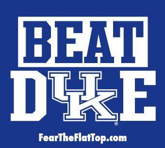 Beat Duke! Kentucky Basketball DY9ASTY!