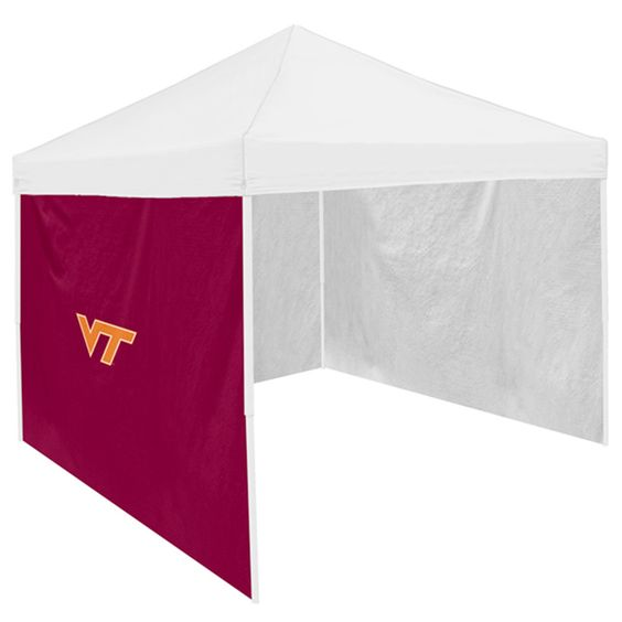 Virginia Tech Hokies NCAA 9' x 9' Tailgate Canopy Tent Side Wall Panel