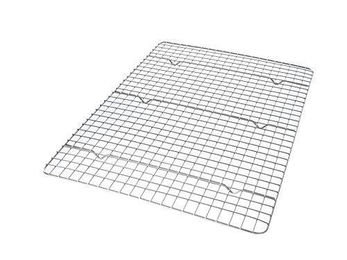 Usa Pan 1602cr Half Sheet Bakeable Nonstick Cooling Rack Pan