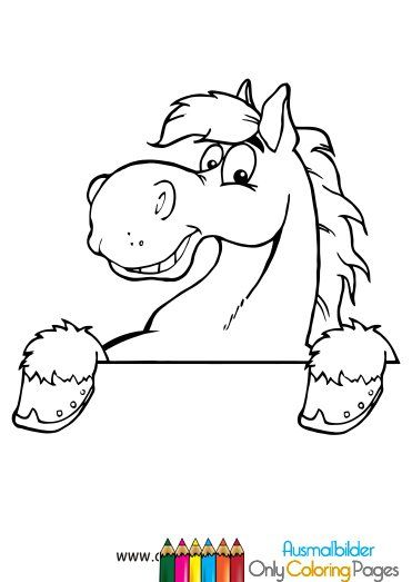 ausmalbilder pferdekopf malvorlagen   ausmalbilder   pinterest