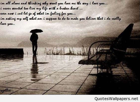 rain wallpaper with quotes boy - photo #1