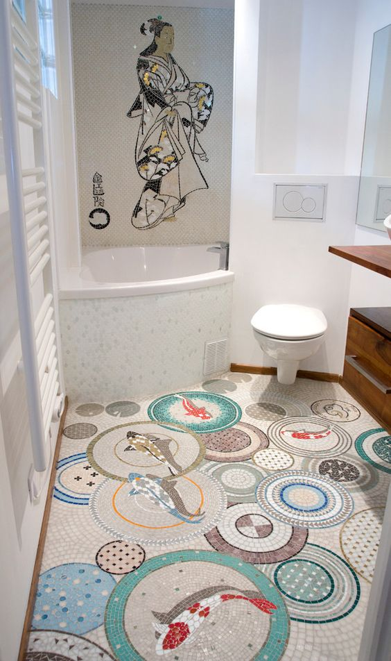 Motif carrelage salle de bain 28 images carrelage for Carrelage salle de bain motif