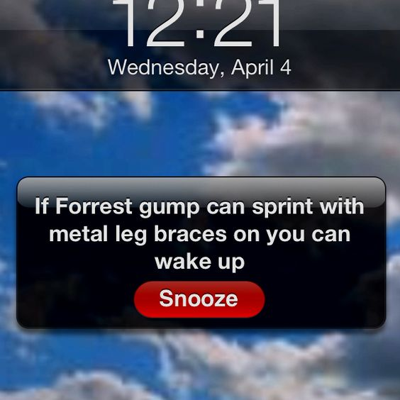 Motivation in the morning