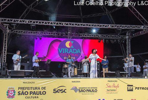 Virada Cultural 2014,Teresa Cristina,sambista carioca,excelente,Sao Páulo,Brasil.