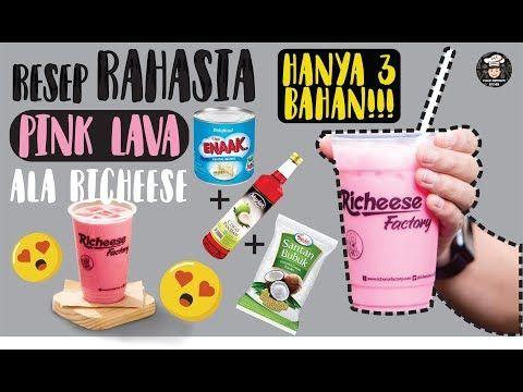 Resep Pink Lava Richeese Ternyata Hanya 3 Bahan Ala Rumahan Dijamin Berhasil Youtube Resep Resep Smoothie Minuman