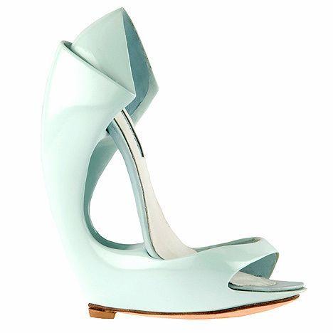 Zapatos. Diseñadora Victoria Spruce.