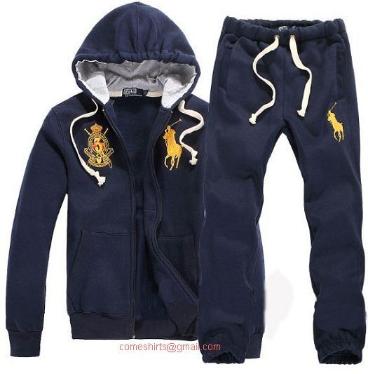 last 2012 Polo Ralph Lauren Hombres Tracksuit Armada/Amarillo Ralph Lauren Spain clothing hot sale now