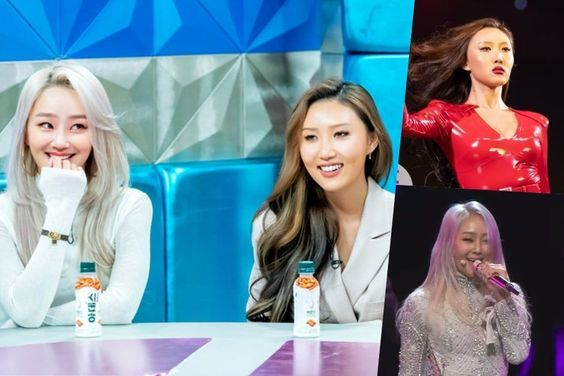 Hyolyn And MAMAMOO's Hwasa Share Thoughts On Their Controversial Award Show Performance Outfits