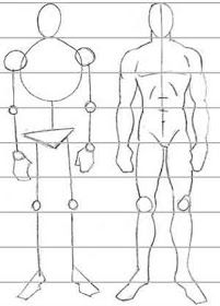 Tecnicas De Dibujo Dibujo Del Cuerpo Humano Cuerpo Humano Dibujo Bocetos Del Cuerpo Humano Proporciones Del Cuerpo Humano
