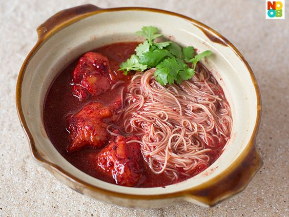 Foochow Red Wine Mee Sua Recipe: Food Recipes, Red Wine, Noodles, Cooking Time, Indulge Recipes
