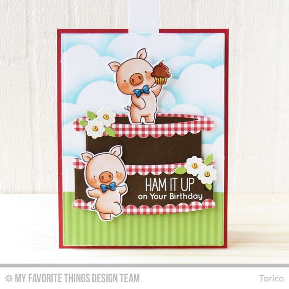 Twice the Wishes Card Kit - Torico  #mftstamps: