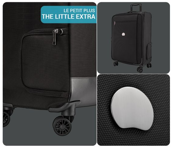 MONTMARTRE PRO and its Easy Access Compartment #DELSEY #luggage ...