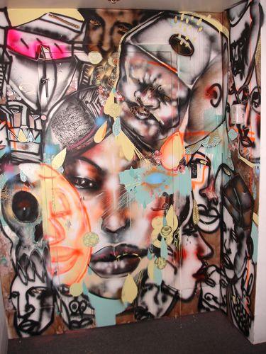 Facebook's Wall Art