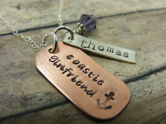 I love that MY necklace is circulating Pinterest! I repinned this from someone I didn't even know!