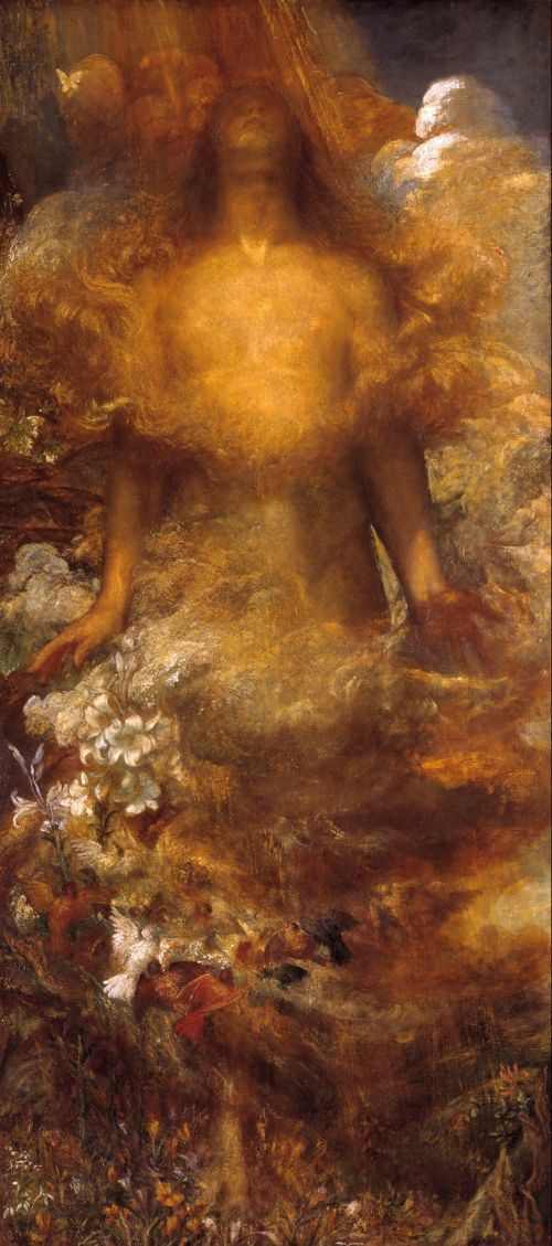 She Shall be Called Woman | George Frederic Watts | oil painting