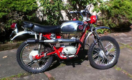 '71 Hodaka Ace 100 B
