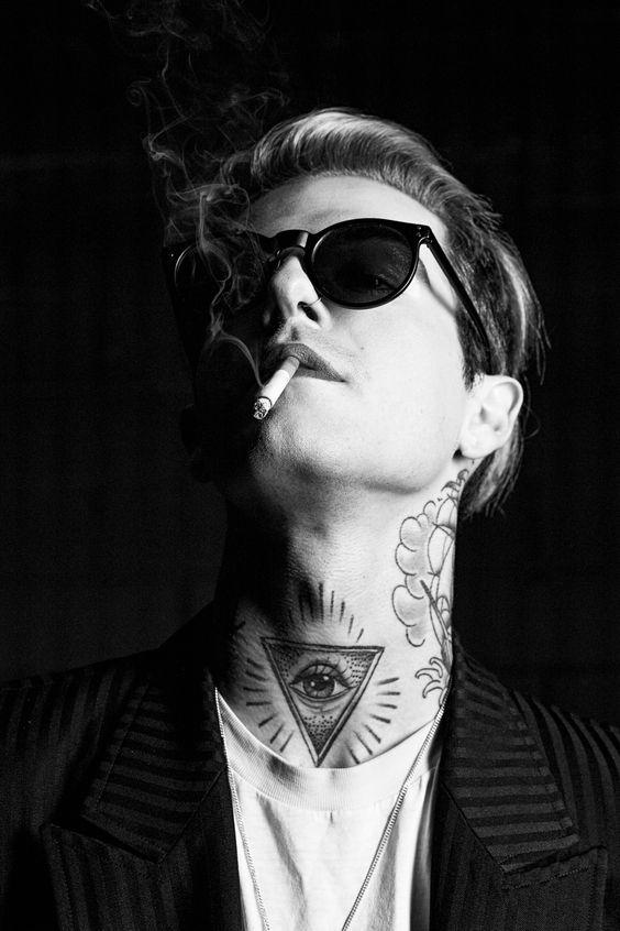 Jessie English photographer Jesse Rutherford Ampersand The Neighbourhood Fashion Icon David Bowie