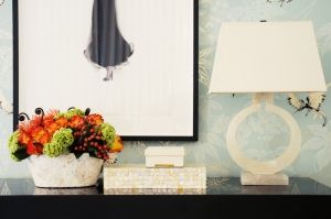 What to do with your entry or console table.