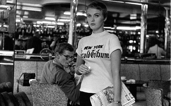En los zapatos de... Patricia, de Sin Aliento  Sin Aliento (À bout de souffle, Jean-Luc Godard 1960).