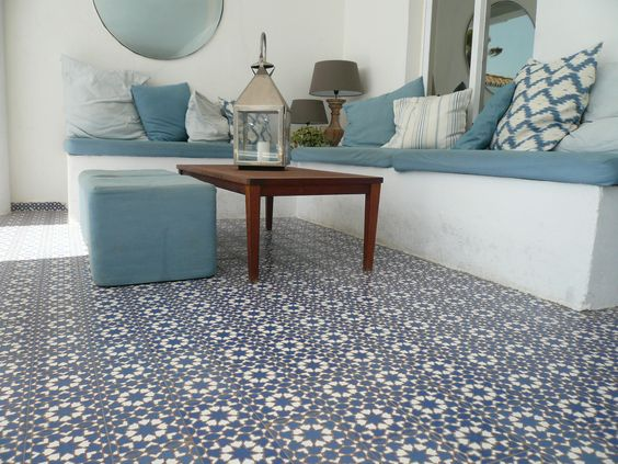 Tuin tile and colors on pinterest - Ideeen buitentuin ...