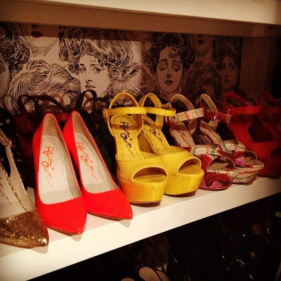 Stacey's shoe collection is growing…