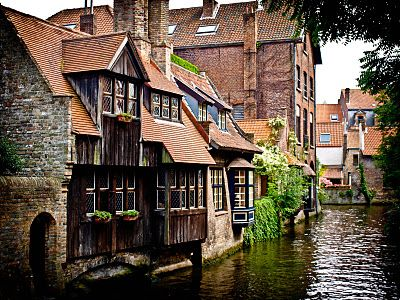 Bruges, Belgium ...I have been to Brussels but not here.