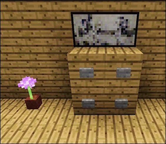 Minecraft Dresser