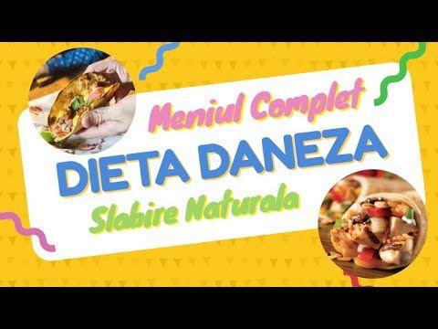 dieta de slabire daneza