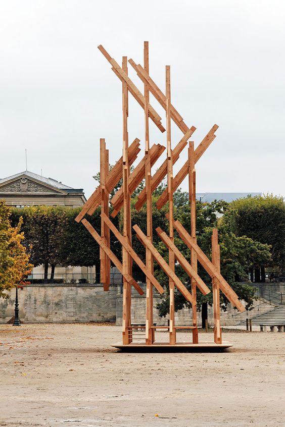 Kengo Kuma in Paris' Jardin des Tuileries - Google Search