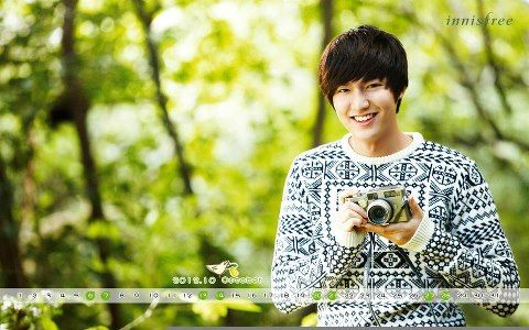 calendar - lee-min-ho Photo