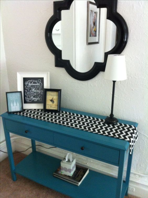 Foyer Table Runner : Hall table cheap home decor my creations pinterest