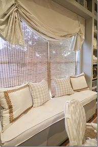 Beautiful Window Seat Window Treatment Window Treatments