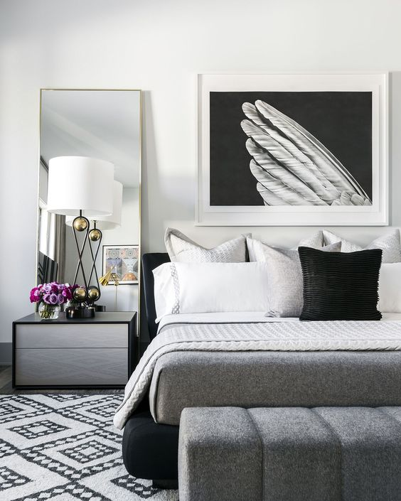 With Grey Accents - ELLEDecor.com