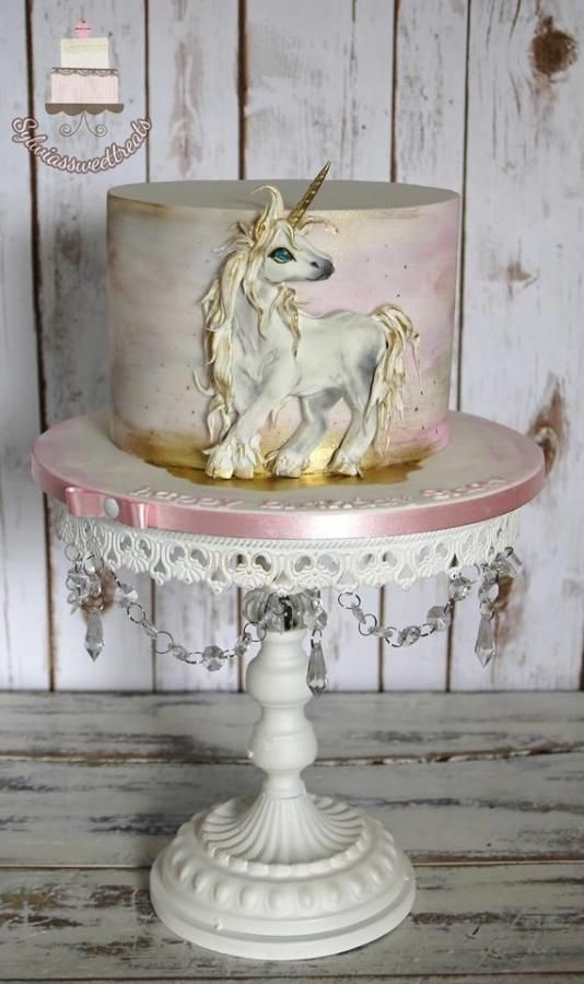 Unicorn and watercolor... by Sylwia