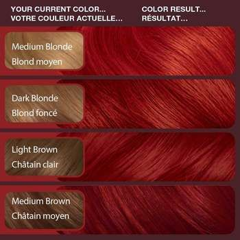 vidal sassoon london luxe runway red - first boxed dye in a long time lets seeeeeee
