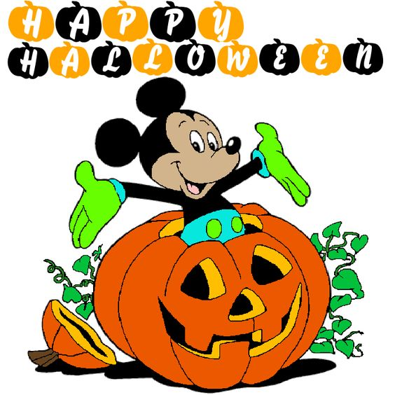 glitter halloween | Seasonal » Halloween » Mickey Mouse - Halloween
