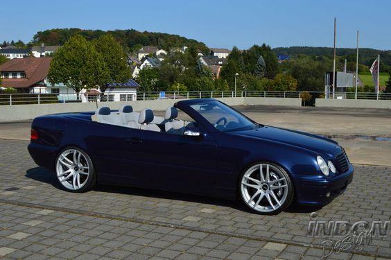INDEN-Design: Mercedes Benz CLK 320 W208 Cabrio mit 20 Zoll Shoxx
